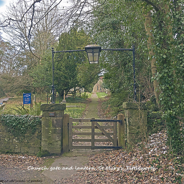 wtc Church gate & lantern, Fittleworth.j