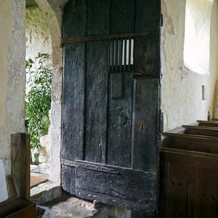 Norman door, Coombes Church