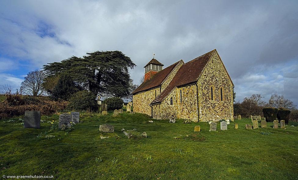 c Saint Agatha's Church, Coates. southwe