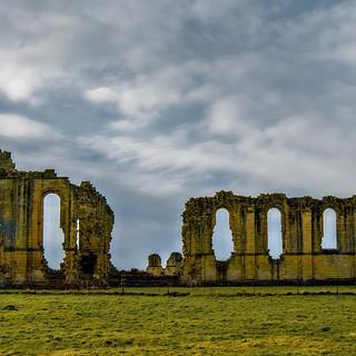 Byland Abbey, Yorks..