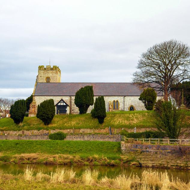 St. Mary's, Rhuddlan, North Wales