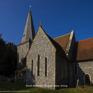 Saint Andrew's Church spire, Oving