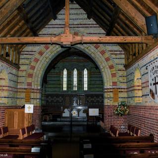 St. James' Church interior, Clanfield