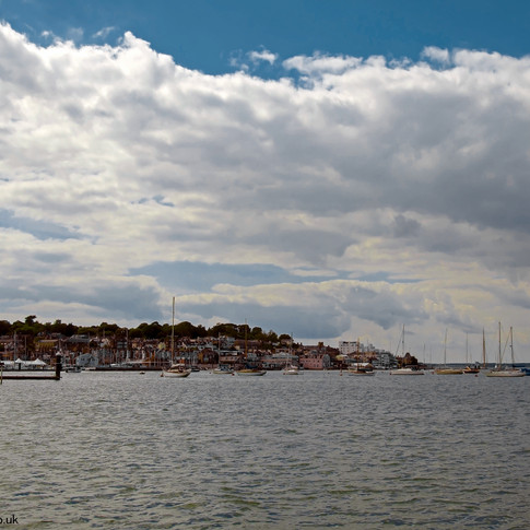 Cowes from the ferry