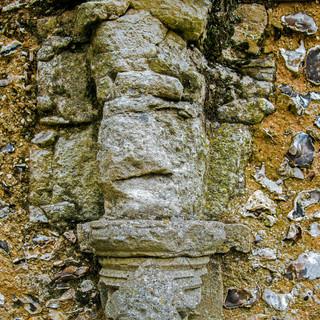 Boxgrove Priory carving