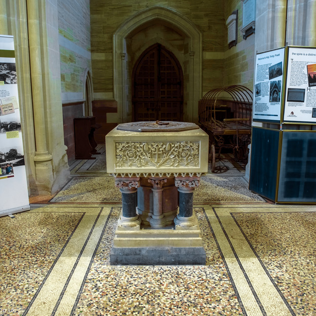 The Font, Holy trinity Church, Privett