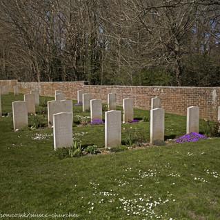 cAllied & German WW2 graves