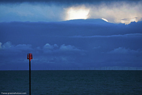 Winter seaview