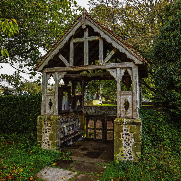St Andrew's Lych Gate, Bishopstone -30mb