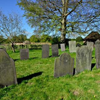 Victorian slate headstones