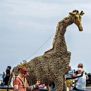 Lion King's giraffe