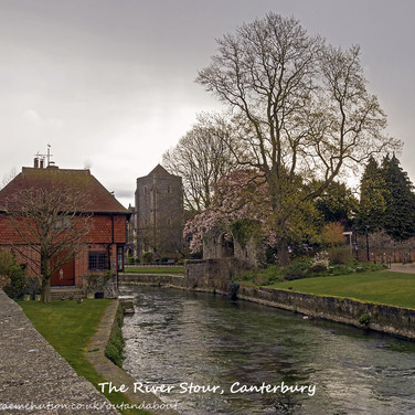 River Stour & Holy Cross (Guildhall)