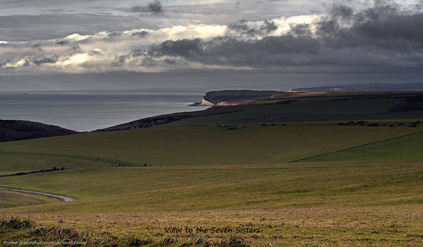 View to the Seven Sisters