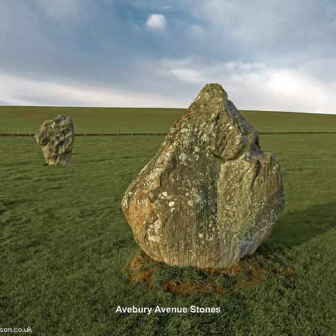 Avebury Avenue Stones
