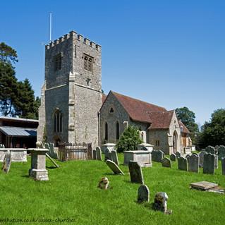 St. Mary's Church tower, Funtington
