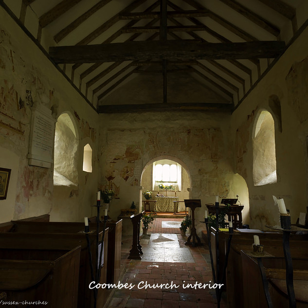 Coombes Church interior
