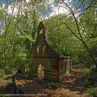 The Church ruins at Bedham