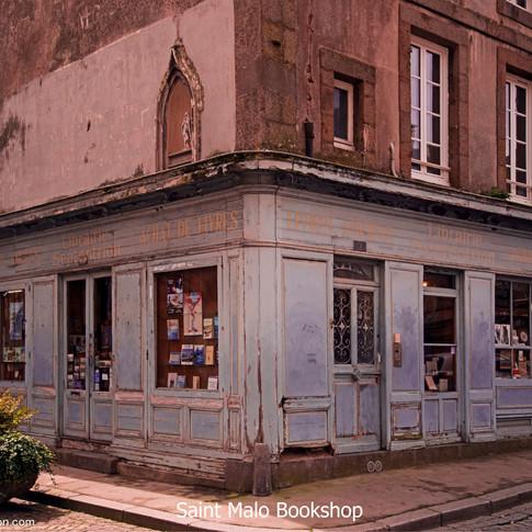 Saint Malo bookshop