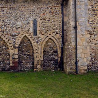 All Saints Church, Wiston north arches