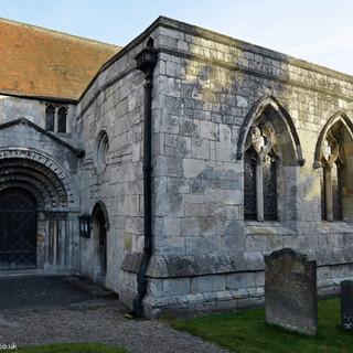 St Helen's door and chapel
