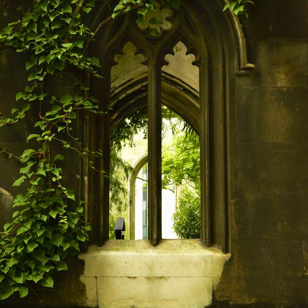 St Dunstan's north window