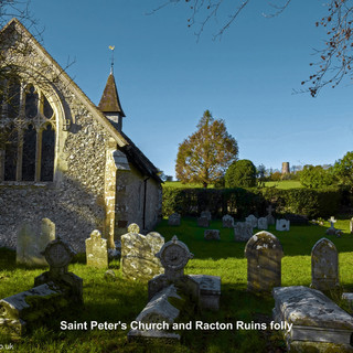 St. Peter's and Racton Ruins folly