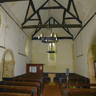 All Angels Church ceiling