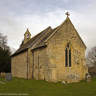 All Saints Church, Wiston south east corner