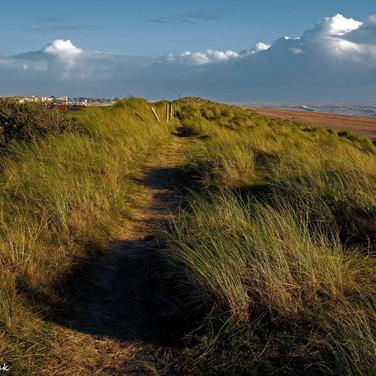 Littlehampton dunes looking eastwards