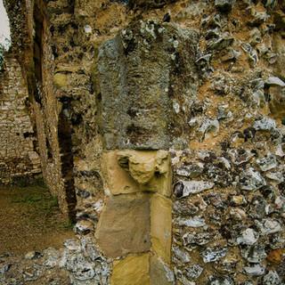 Boxgrove Priory stonework