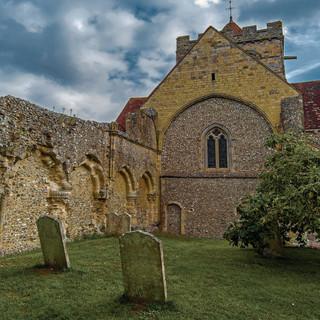 St Mary & St Blaise west window