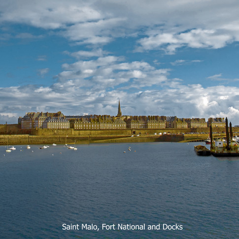 Saint Malo, Fort National and Docks