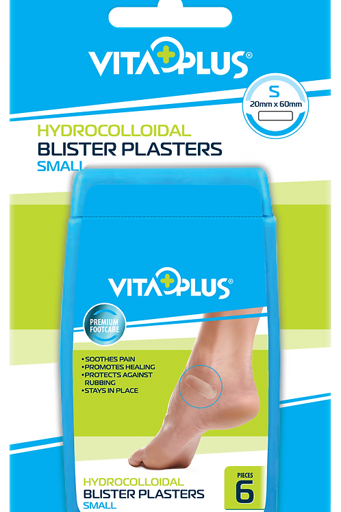 Blister Plasters Small 20 x 60mm 6's