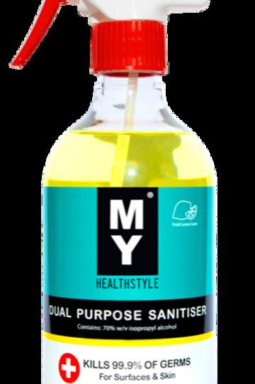 MY Dual Purpose Sanitiser 500mL