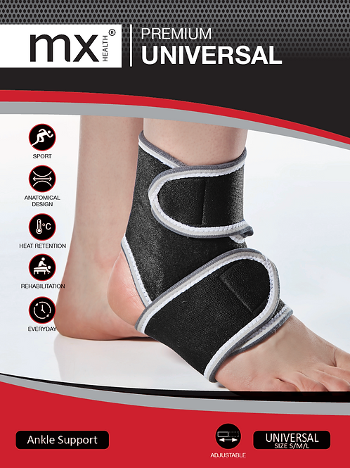 MX Premium Universal Ankle Support