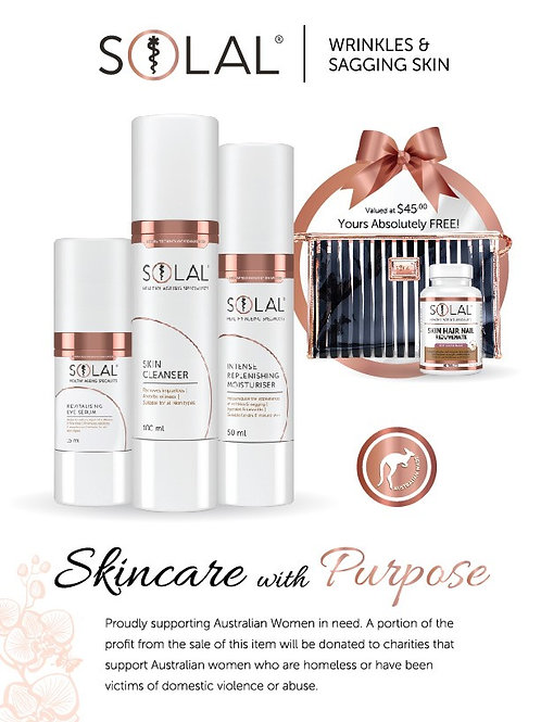 Wrinkles & Sagging Skin Gift Pack