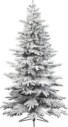 Albero di Natale innevato Everlands medio