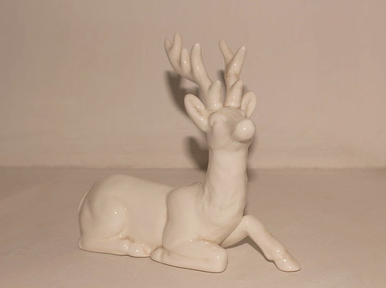 Renna in ceramica