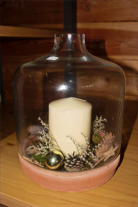 Composizione in vaso