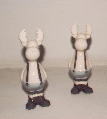Renne in ceramica