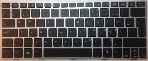 HP Revolve 810  Backlight Keyboard