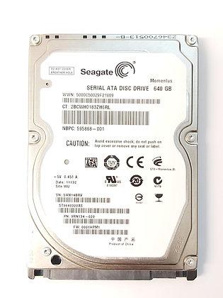 Seagate 640GB