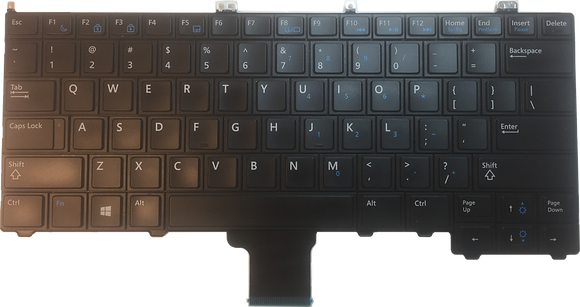 Dell Latitude E7440 US Laptop Keyboard