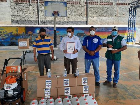 AGUAPES recibe donativo de BHA/USAID