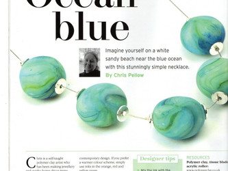 My first ever article in Making Jewellery Magazine