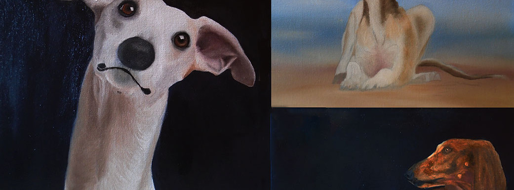 3 OIL PAINTINGS - WORK IN PROGRESS