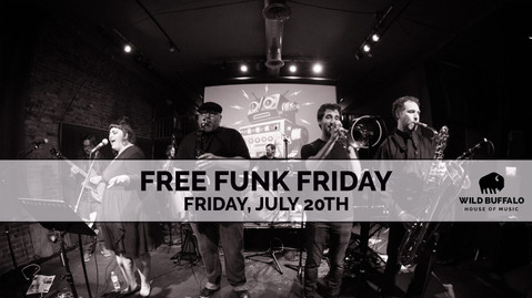 FREE FUNK FRIDAY!!