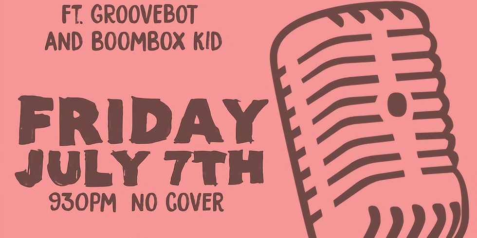 Free Funk Friday featuring Groovebot