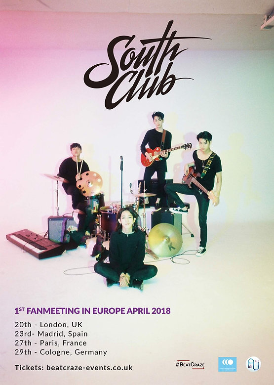 South Club Head to Europe For Their 1st Fan-Meeting | Music Blog