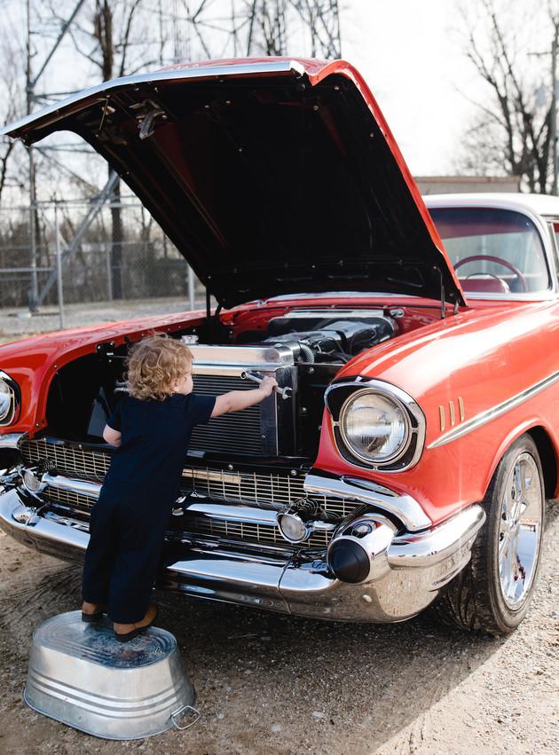 LJ - Little Mechanic Mini Session | North MS Lifestyle Photographer